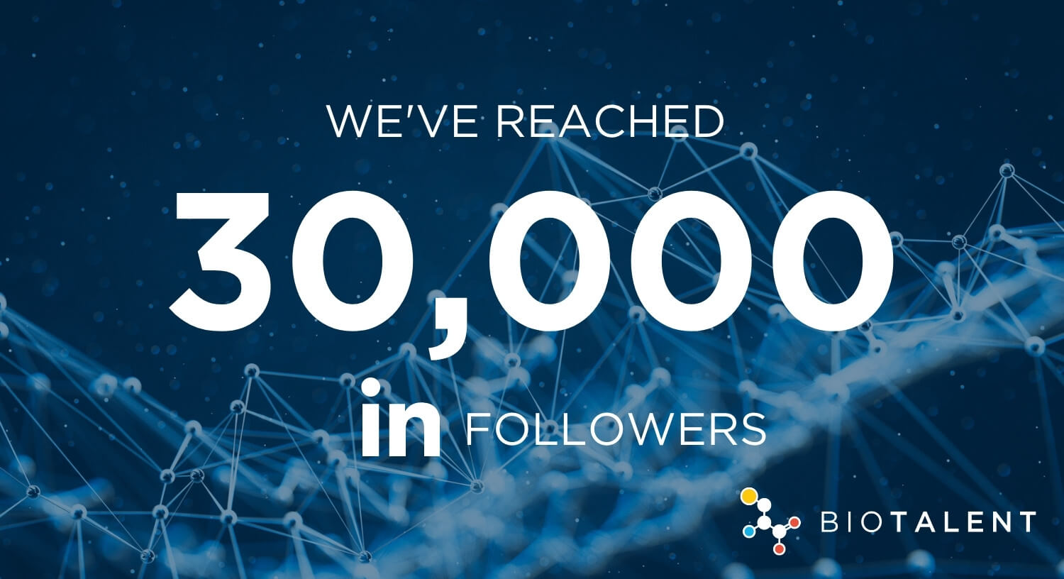 30,000 LinkedIn followers!