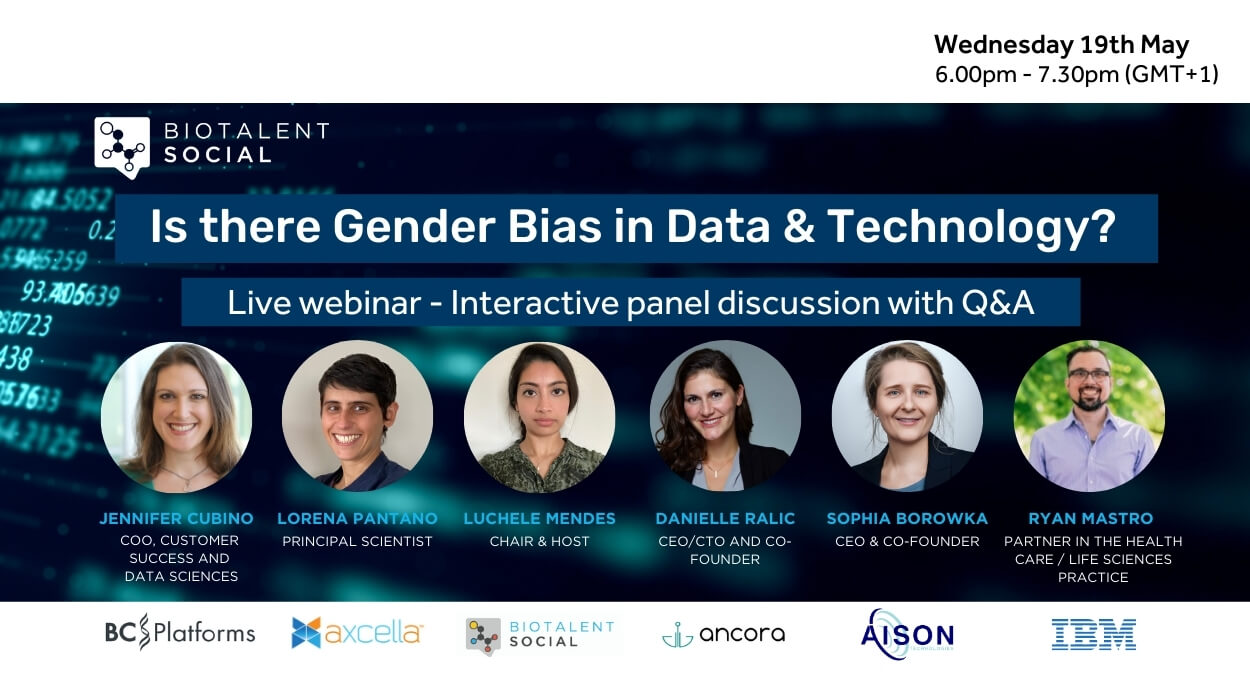 BioTalent Social Webinar #2: Is there Gender Bias in Data & Technology?