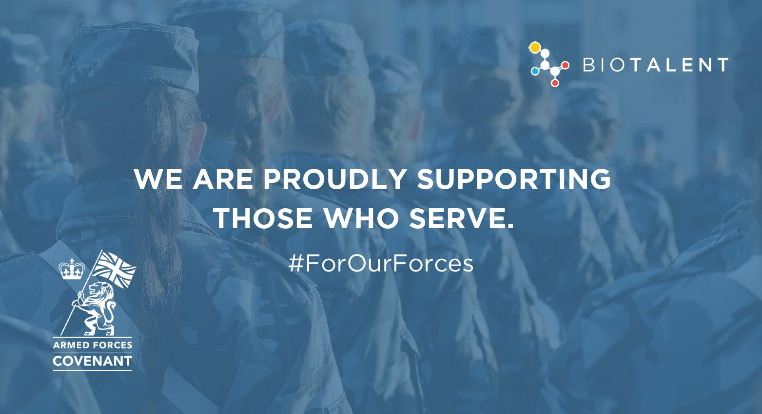 We have signed the Armed Forces Corporate Covenant