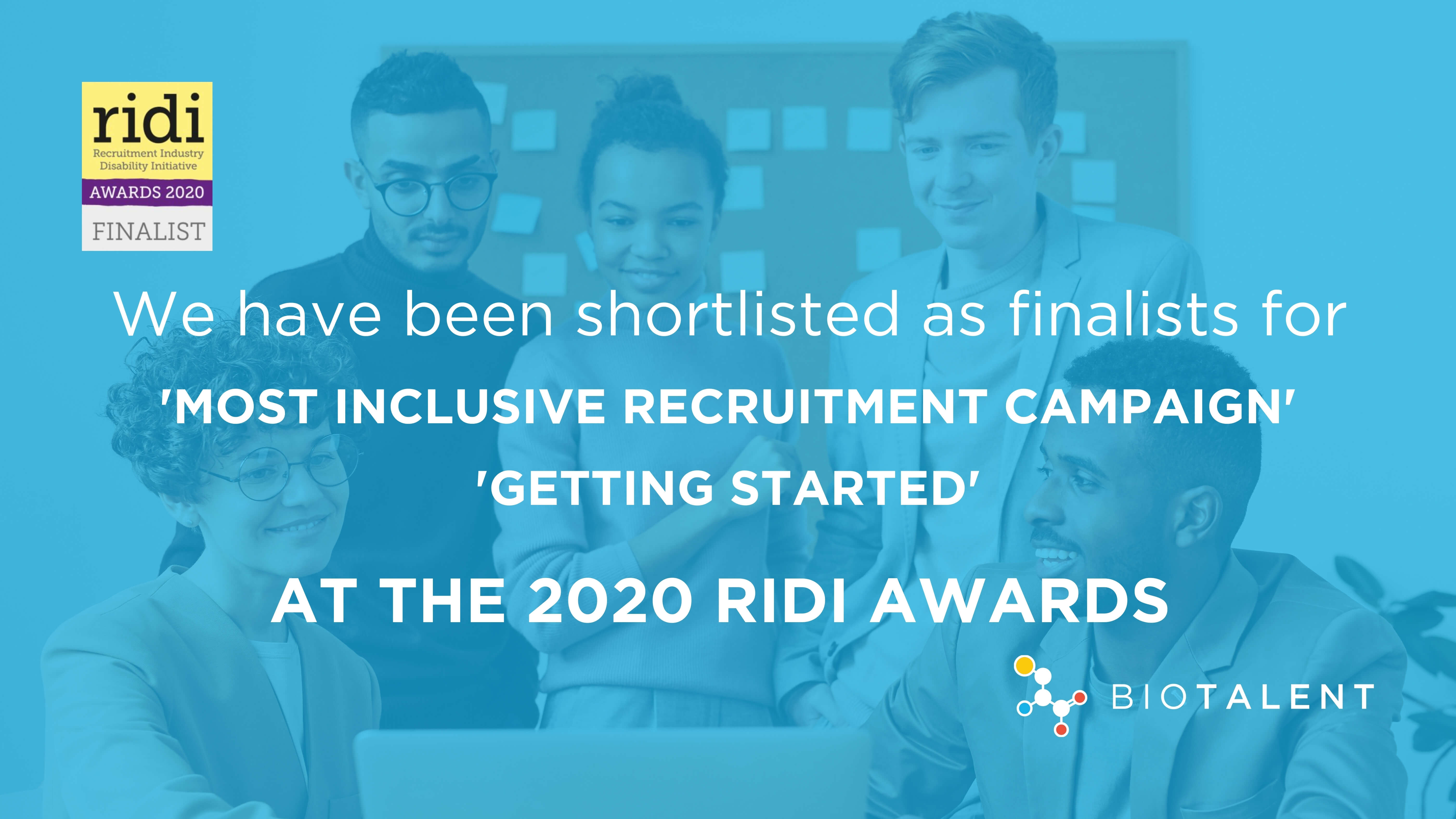 Shortlisted for the RIDI Awards 2020